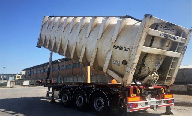 Самосвальные контейнеровозы