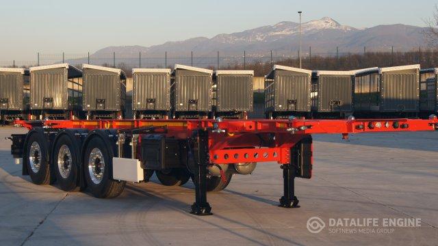 Танк-контейнеровозы 3x-осные